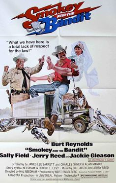 Smokey and the Bandit (1977) Original One-Sheet Movie Poster