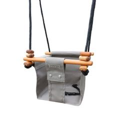 Solvej Baby and Toddler Swing - Classic Taupe