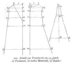 Houpeland pattern, ca 1450 Kohle? Wilcox? Laver? check the books.