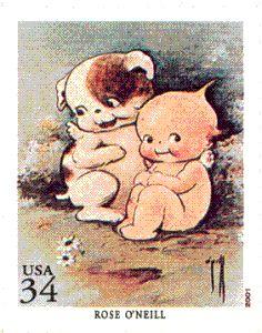 Kewpie Doll US Postage Stamp