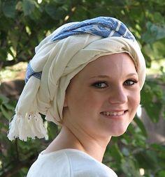 Turban, Italy.. Like the hair wrap thing!