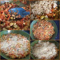 Backtoeden: Arroz con verduras gratinado
