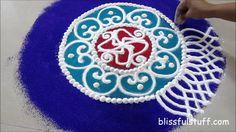 Diwali Special - Sanskar Bharati Rangoli Design, How to draw sanskar bha...