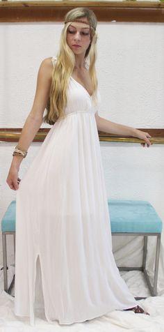 Goddess in Greece dress