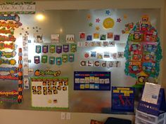 Here's a fabulous idea for creating a magnetic wall in your classroom.