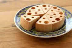 wooden cheese