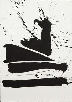 Robert Motherwell, Automatism B, 1965-66