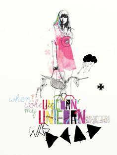 Illustration + Typography