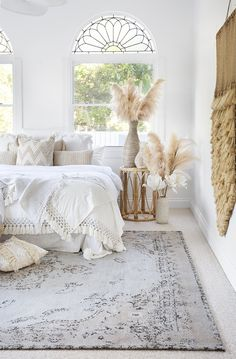 Helena White and Peach Turkish Style Distressed Rug - Miss A.- Helena White and Peach Turkish Style Distressed Rug – Miss Amara (AU) Helena White and Peach Turkish Style Distressed Rug - Home Decor Bedroom, Bedroom Rugs, Bedroom Ideas, Teen Bedroom, Bedroom Inspo, My New Room, Home Decor Inspiration, Cheap Home Decor, Home Remodeling