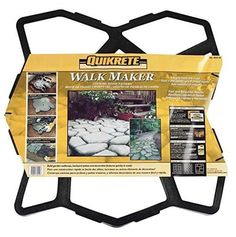 W x 2 ft. L, Black, Gardening Quikrete Walk Maker Recycled Plastic Concrete Stone Pattern Form 2 ft. W x 2 ft. L, Black, Gardening Concrete Bags, Concrete Forms, Concrete Stone, Concrete Projects, Concrete Garden, Outdoor Projects, Garden Projects, Concrete Pavers, Diy Concrete