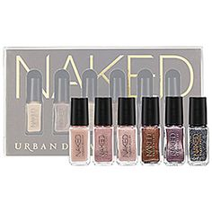 Urban Decay - Naked Nail Set