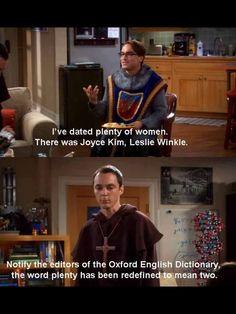 Oh Sheldon :')