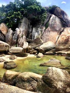 At Grandfather Rock, Koh Samui