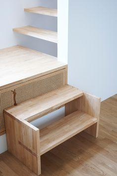 Mini Wood Staircase