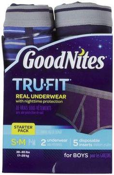 Goodnites Tru-Fit Nighttime Protection Underwear- Boys
