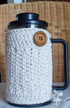 French Press Cozy Coffee Bodum Cozy Cafetiere by soulybarb on Etsy