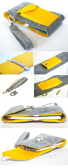 Felt Pencil Case Tutorial   http://www.free-tutorial.net/2017/04/felt-pencil-case-tutorial.html