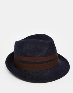 Shop Catarzi Trilby Hat at ASOS. Trilby Hat, Fashion Online, Asos, My Style, Shopping, Image