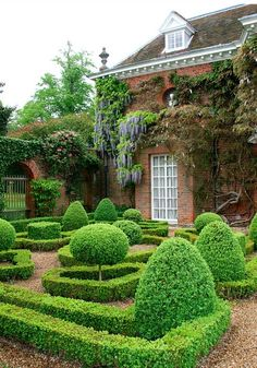 I do like a little topiary.