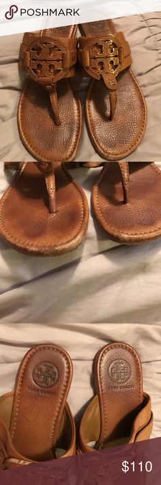 Tory Burch soft leather sandals Comfortable soft leather Tory Burch Sandals Tory Burch Shoes Sandals