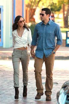 Cara Santana and Jesse Metcalfe...