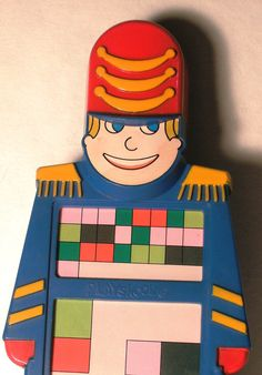 Major Morgan - 1980s Hand-held Electronic Organ Toy by Playskool. $30.00, via Etsy.