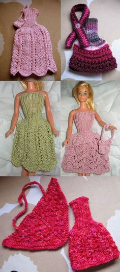 Lankapirtti: Barbien mekkojen ohje Barbie Clothes, Doll Patterns, Cool Kids, Crochet Projects, Crochet Bikini, Bikinis, Swimwear, Crochet Hats, Dolls