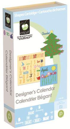 Cricut® Designer's Calendar Cartridge