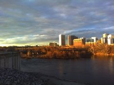 """RVA ....the James River at sunset.  There's a reason it's called """"RIVER CITY'"""