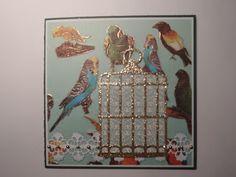Fritids sysler: Kort med fugle.