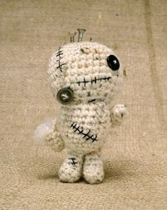 Completed Project: Zombiebot Plushie Picture #1