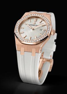 0935e473279  AudemarsPiguet  RoyalOak  67651 Gold And Silver Watch
