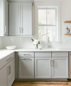 Find other ideas: Kitchen Countertops Remodeling On A Budget Small Kitchen Remodeling Layout Ideas DIY White Kitchen Remodeling Paint Kitchen Remodeling Before And After Farmhouse Kitchen Remodeling With Island Shabby Home, Farmhouse Kitchen Cabinets, Painting Kitchen Cabinets, Kitchen Cupboards, Kitchen Pantry, Kitchen Flooring, Kitchen Countertops, Kitchen Backsplash, Backsplash Ideas
