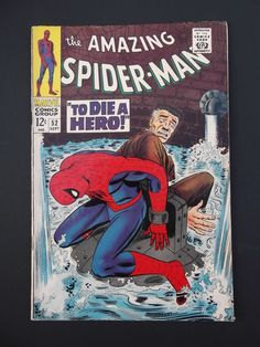 Amazing Spider-Man #52! Silver Age! 1967! Kingpin! Marvel! Stan Lee! John Romita