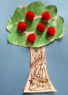 25 Apple crafts and activities for preschool.