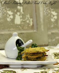 Great way to eat kale - Kale-Pakora-Patties www.fooddonelight.com