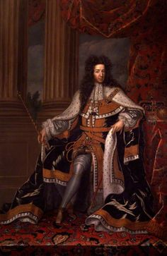 William III, King of England, Scotland, and Ireland and Prince of Orange by an unknown artist. Displayed at the National Portrait Gallery, London, UK.