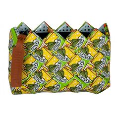Coin Purse salsa design  HandMade from repurposed candy wrappers