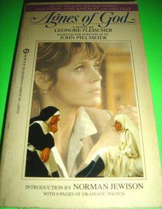 AGNES OF GOD BY LEONORE FLEISCHER 1985 MOVIE TIE-IN PB BOOK