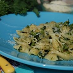 Pasta Shells with Broccoli Rabe - classic Italian and delicious!