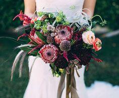 desert wedding bouquet
