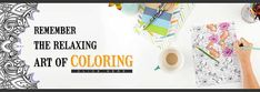 Some of the Best Adult Coloring Books to relax with...