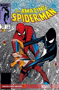 The Amazing Spider-Man #258, cover by Ron Frenz (I think). This is one of the covers--and stories--that really stands out in my memory.