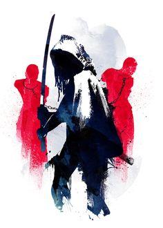 Michonne  by Robert Farkas