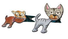 Artmatostes: Clothespin pets / Mascotas pinza
