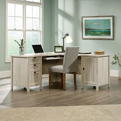 The ultra-sleek, ultra-functional Sauder Costa L-Desk Chc A2 combines rustic charm and contemporary utility for the perfect office desk. This timelessly-styled ...