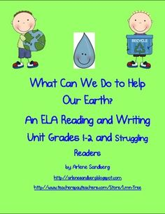 $3.00 This is an 18 page ELA  Reading and Writing Unit for Grades 1-2. Common Core Standards are included in the Lesson Plan.Teaching Notes: (Common Core...Make and Take Book, Writing Activities, Word Work and much more