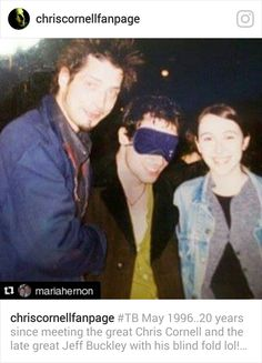 1996 with Jeff Buckley