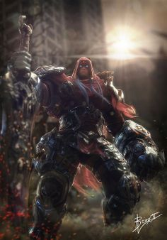 Darksiders - WAR  by Florian Guilbot (Brinx-II)
