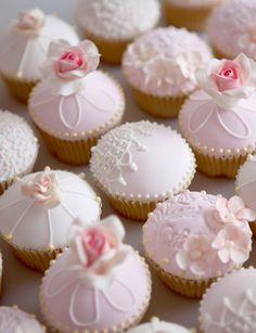 cupcake dentelle